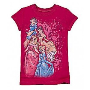 Tricou ROSE PRINCESSES Disney USA
