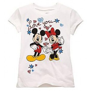Tricou MINNIE & MICKEY MOUSE Disney USA