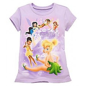 Tricou TINKER BELL & FRIENDS Disney USA