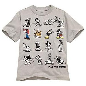 Tricou THE FAB FOUR Disney USA