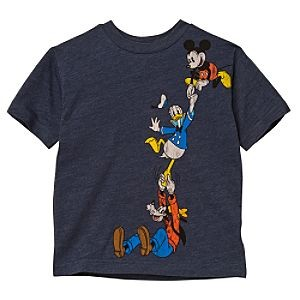 Tricou GOOFY, DONALD & MICKEY Disney USA